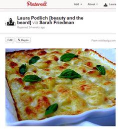 BEAUTY & THE BEARD: Cheesy Gnocchi Heaven