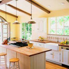 Sunny kitchen remodel