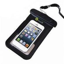 Funda acuática para Smartphones hasta 4,8 pulgadas con conector jack 3,5mm Muvit  $ 126,40