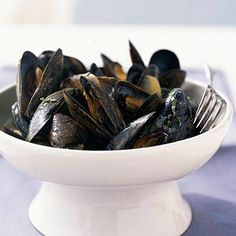Mussels in Spicy Coconut Broth | CookingLight.com