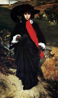 Portrait of May Sartoris by Frederic Leighton @KD Eustaquio Belleville Museum