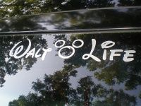 "Pin this to your ""NEED!"" board. :) Most awesome Disney Decal for your car EVER! #waltlife #disney"
