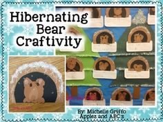 Hibernating Bear Craft and Writing
