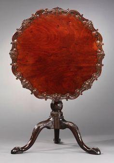 Tea Table attributed to Robert Walker, circa 1750