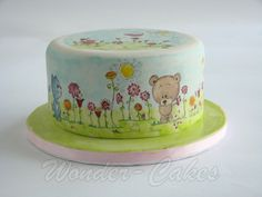 EDITOR'S CHOICE (9/13/2013) Cute little spring cake by Alice van den Ham - van Dijk  View details here: http://cakesdecor.com/cakes/84090