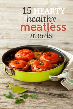 Meatless meals that