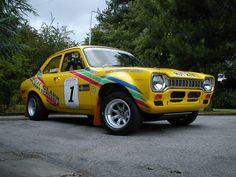 Ford Escort mark I rally car