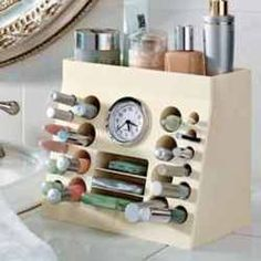 ivonneblurbs: DIY Makeup Organizer Inspiration... | Storage Geek