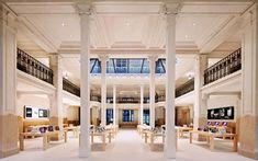 Inside an Apple store in Paris