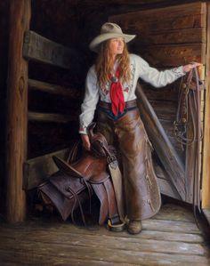 Wyoming Girl http://www.robertduncanstudios.com/