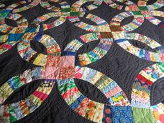 double wedding ring quilt pattern and instructions