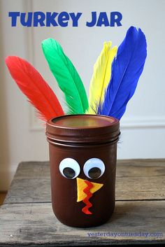 Thanksgiving Mason Jar Craft