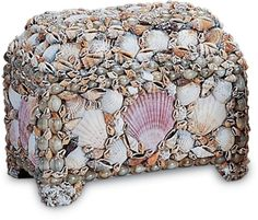 DIY shell jewelry box