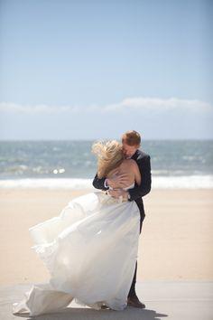 Wedding Dress: Amsale via Saks Fifth Avenue