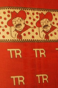 Teddy Roosevelt Bandana