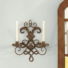 Mavelot Candle Sconce