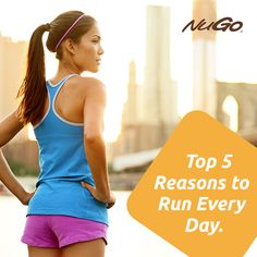 Need a good read? Check out the top 5 reasons for #running every day.