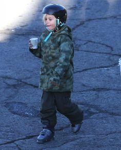 Kingston Rossdale - Pregnant Gwen Stefani Takes Her Boys To Hit The Slopes