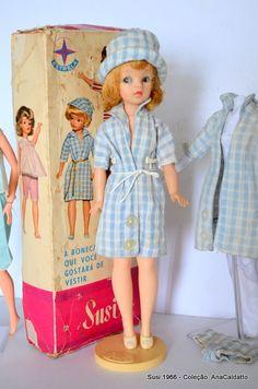 Ainda hoje tenho a minha! Ana Caldatto : Coleção antiga Bonecas Susi da Estrela anos 60 / 70 / 80 / 90