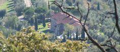 View onto Villa San Crispolto - Luxury Italian Wedding Venue in the heart of Tuscany www.romanticitalianweddings.com