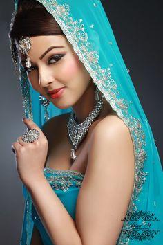 Stunning bride..