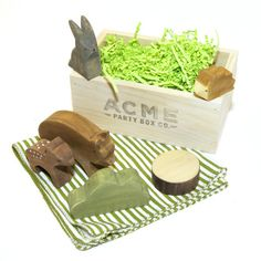 Woodland Wood Toys Crate