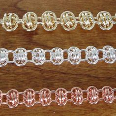 How to make a Barrel Chain from The Bead man.