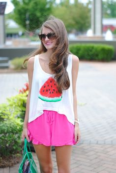 Watermelon tank from ShopbellaC