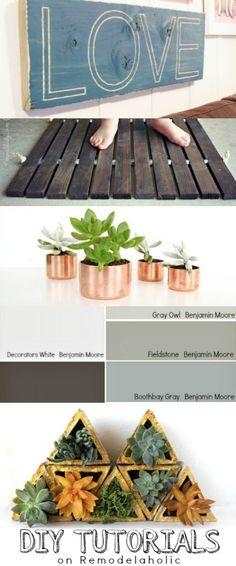 DIY Tutorials on Remodelaholic.com #makeit #buildit #tutorial #diy