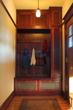 Craftsman Style Entryways on Pinterest