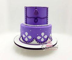 sofia cake by Cynthia's Custom Cakes