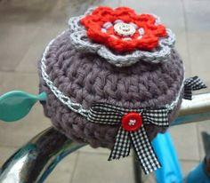 KnoopjesZ hooks: Crocheted bell sleeve