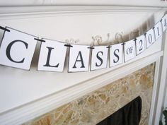 Class of 2014 banner graduation party party by MelissaTalbott, $22.00