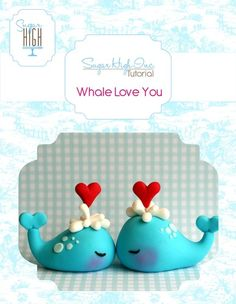 Whale Love Tutorial, $3.50