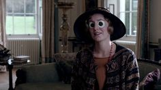 """Edith with Googly Eyes: """"If you're going to talk about your wretched arm again I won't listen!"""""""
