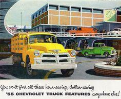1955 Chevrolet Trucks