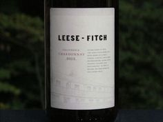 Leese Fitch Chardonnay Reviewed!  See what's in this Chardonnay that gives it just a bit of sweetness...  http://www.honestwinereviews.com/2014/10/leese-fitch-wine-chardonnay-cabernet.html