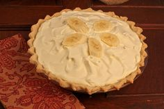 Banana Cream Pie from Cooks Illustrated from Dinners Dishes and Desserts