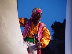 L. Peter Callender as Oberon in A Midsummer Night's Dream, 2002.#calshakes40th