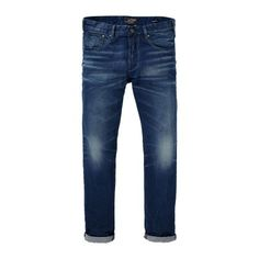 Scotch and Soda Ralston Stormroller Slim Fit Faded Denim Jeans - £125