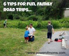 6 TIPS FOR ROAD TRIPS WITH LITTLE KIDS: If the itch to travel hasn't stopped just because you have kids, try these six tips for road trips with little ones.