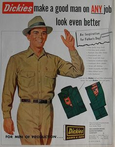 Dickies mens pants blue collar uniform fashion clothing (1953)
