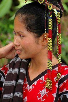 Mindanao, Tboli girl.