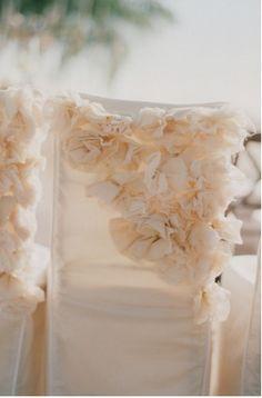 33 Chair Swag & Wedding Chair Decoration Ideas   Confetti Daydreams