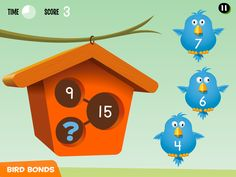 Best math apps for early elementary kids: Number Bonds App teaches Addition and Subtraction