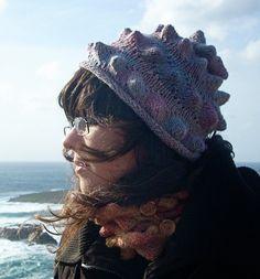 hedgehog hat, hat combo, knit hats