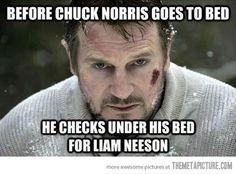 Take that Chuck Norris fans