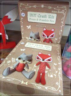 DIY Freda & Frankie Fox craft kit £7.95