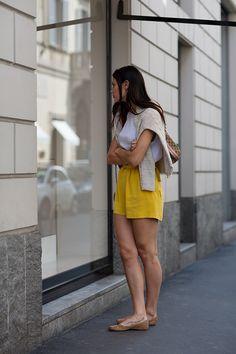 On the Street…..via Sant'Andrea, Milan