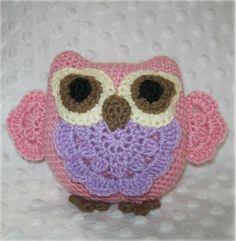 Crocheting: Little Miss Princess Owl Crochet Pattern www.craftsy.com